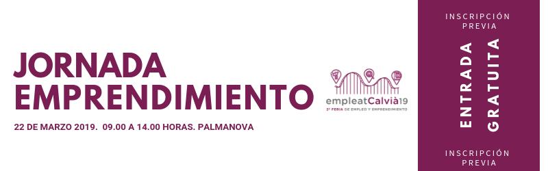 Jornada de personas emprendedoras del 22 de marzo en Palmanova