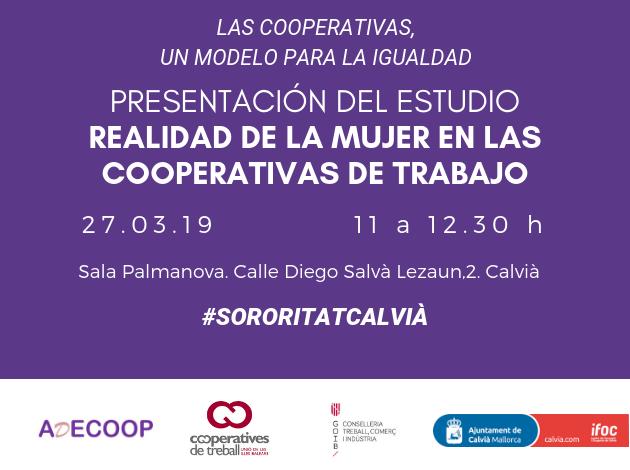 Las cooperativas un modelo para la igualdad. Presentación de un estudio sobre la mujer cooperativista en Calvià