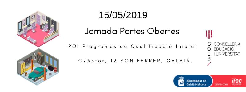 Jornada de portes obertes dels Programes de Qualificació Inicial a Son Ferrer