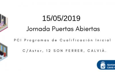 Jornada de puertas abiertas de los Programas de Calificación Inicial en Son Ferrer