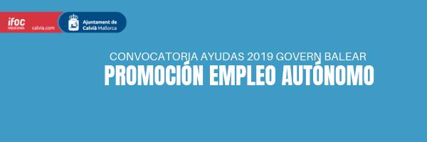 Publicada la convocatoria de ayudas para promocionar el empleo autónomo 2019
