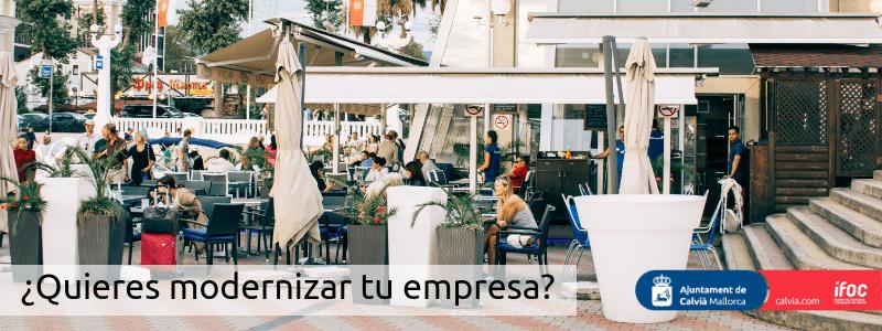 ¿Quieres modernizar tu establecimiento? Ayudas del Govern Balear y de la Cámara de comercio para tu negocio