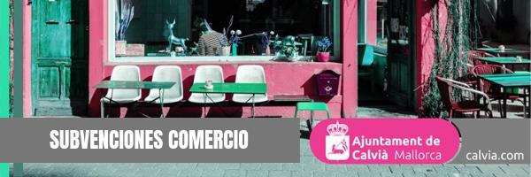 Convocatoria de subvenciones del Ayuntamiento de Calvià para la mejora de la estética de los comercios 2019-2020