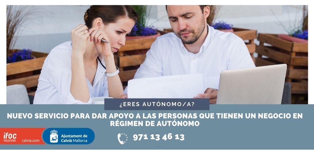 El Ajuntament de Calvià recibe más de 150 consultas a través del nuevo servicio de apoyo a autónomos