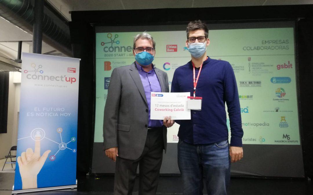 CVTDP, empresa ganadora del premio de estancia gratuita en el coworking de Calvià del programa Connect'UP 2020