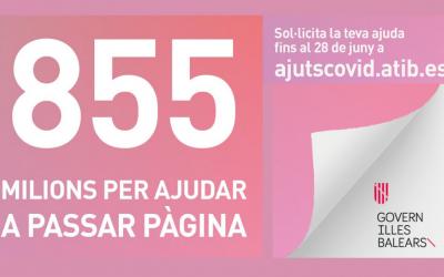 ABIERTO EL PLAZO PARA SOLICITAR LAS AYUDAS DIRECTAS ESTATALES DE 855M DIRIGIDAS A PERSONAS AUTÓNOMAS Y EMPRESAS