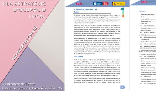 L'Ajuntament de Calvià pone en marcha un Plan Estratégico de Empleo Local 2021-2023