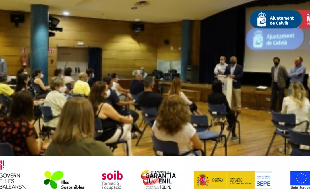 Finaliza el programa SOIB Reactiva 2020 que ha ofrecido trabajo a 106 personas desempleadas