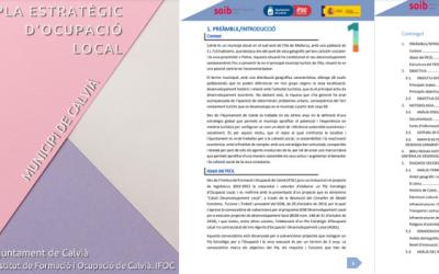 L'Ajuntament de Calvià posa en marxa un Pla Estratègic d'Ocupació Local 2021-2023